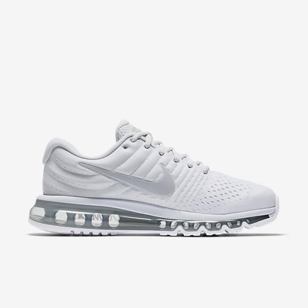 Homme Nike Air Max 2017 Blanc Chaussures