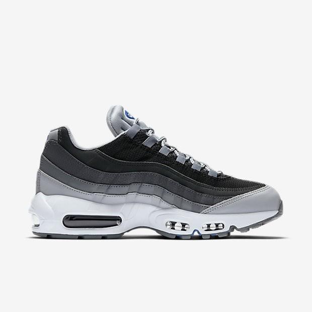 newest 3df1f a3a42 ... Chaussures de sport Nike Air Max 95 Essential homme Gris loup Noir Gris  foncé ...