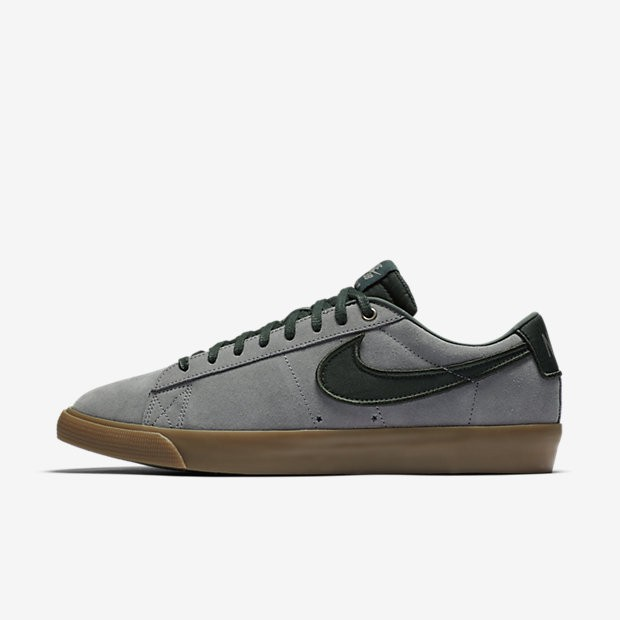 great quality best cheap arrives France Chaussures de sport Nike SB Blazer Low GT homme Fumée ...
