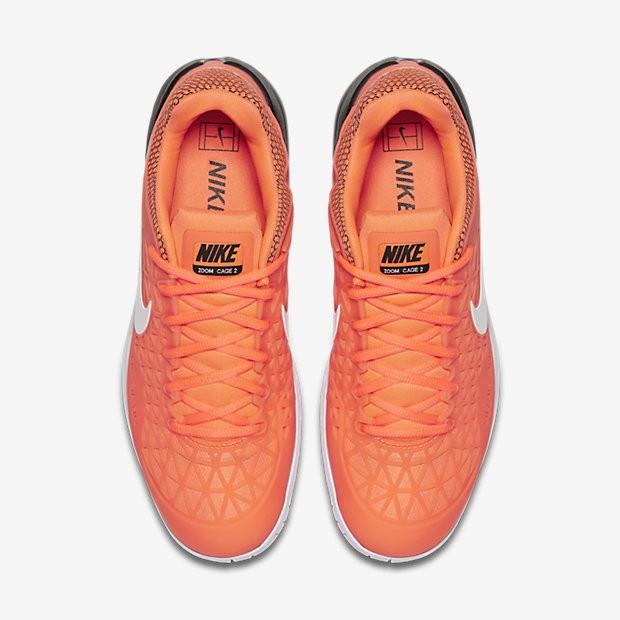 sports shoes c7898 ccb55 ... Chaussures de sport Nike Court Zoom Cage 2 homme Aigre Noir Blanc ...