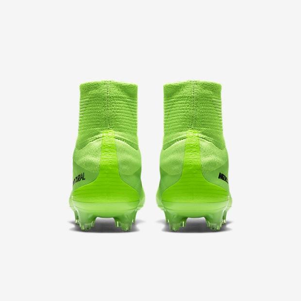 separation shoes 38c63 e1269 ... Chaussures de sport Nike Mercurial Superfly V FG homme Vert  électrique Vert ombre Blanc ...