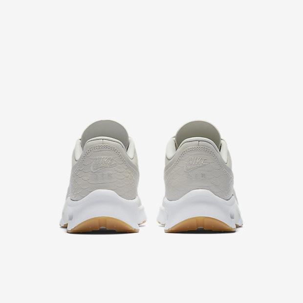 wholesale dealer 235e3 8a6ee ... Chaussures de sport Nike Air Max Jewell SE femme Beige clair Jaune  gomme Blanc