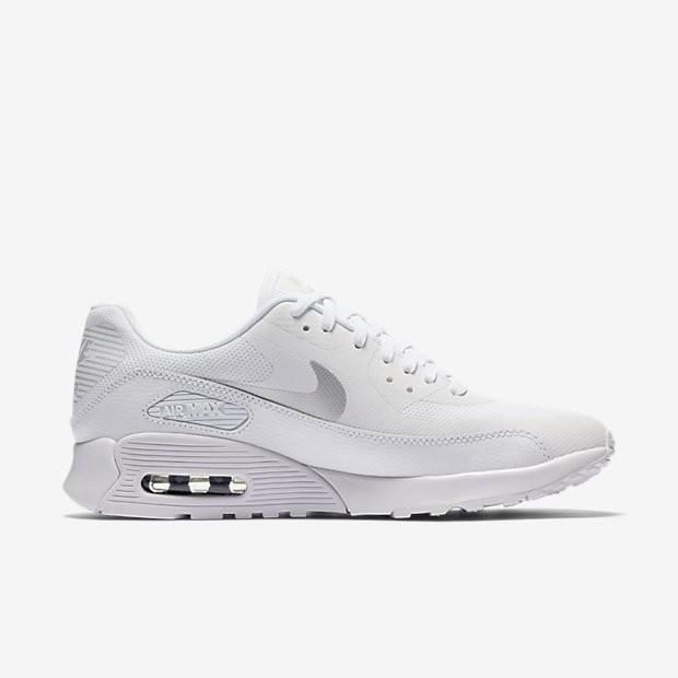 finest selection 3bfae 1b848 ... Chaussures de sport Nike Air Max 90 Ultra 2.0 femme Blanc Blanc Noir   ...