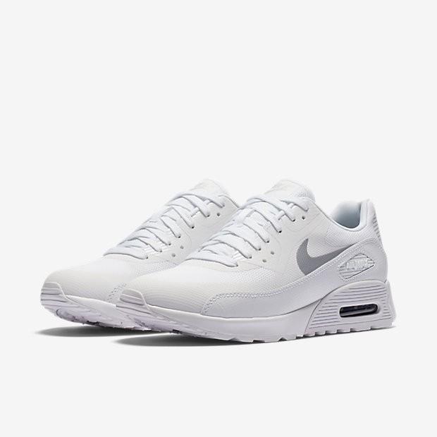 finest selection b5701 0f741 ... Chaussures de sport Nike Air Max 90 Ultra 2.0 femme Blanc Blanc Noir   ...