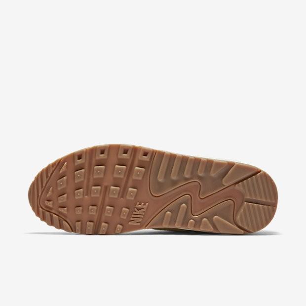 promo code e9d4c b1a7c ... Chaussures de sport Nike Air Max 90 Premium femme Flocons d avoine Voile   ...