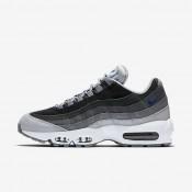 Chaussures de sport Nike Air Max 95 Essential homme Gris loup/Noir/Gris foncé/Bleu électrique