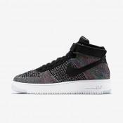 Chaussures de sport Nike Air Force 1 Ultra Flyknit homme Explosion rose/Blanc/Blanc/Noir