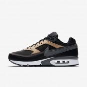Chaussures de sport Nike Air Max BW Premium homme Noir/Brun vachette/Blanc/Gris foncé