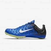 Chaussures de sport Nike Zoom Maxcat 4 homme Hyper cobalt/Noir/Vert ombre/Blanc