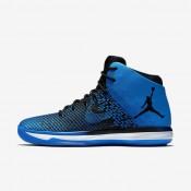 Chaussures de sport Nike Air Jordan XXXI homme Noir/Blanc/Blanc/Bleu électrique
