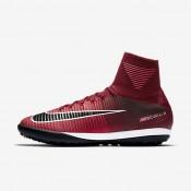 Chaussures de sport Nike MercurialX Proximo II TF homme Rouge équipe/Rose coureur/Blanc/Noir