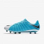 Chaussures de sport Nike Hypervenom Phantom 3 AG-PRO homme Blanc/Bleu photo/Bleu chlorine/Noir