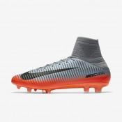 Chaussures de sport Nike Mercurial Veloce III Dynamic Fit CR7 FG homme Gris froid/Gris loup/Cramoisi total/Hématite métallique