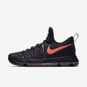 Chaussures de sport Nike Zoom KD 9 Premium homme Noir/Rouge cocktail