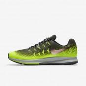 Chaussures de sport Nike Air Zoom Pegasus 33 Shield homme Kaki cargo/Volt/Noir/Bronze rouge métallique