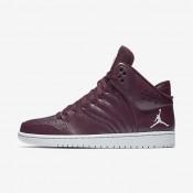 Chaussures de sport Nike Jordan 1 Flight 4 homme Bordeaux nuit/Platine pur