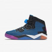 Chaussures de sport Nike Air Jordan Spike Forty homme Noir/Bleu photo/Orange atomique/Rose feu