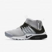Chaussures de sport Nike Air Presto Mid Utility homme Gris loup/Blanc/Noir