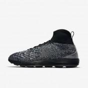 Chaussures de sport Nike Lunar Magista II Flyknit FC homme Noir/Blanc/Blanc/Noir