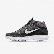 Chaussures de sport Nike Flyknit Chukka homme Noir/Blanc