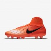 Chaussures de sport Nike Magista Orden II FG homme Cramoisi total/Rouge université/Mangue brillant/Noir