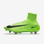 Chaussures de sport Nike Mercurial Superfly V SG-PRO homme Vert électrique/Vert ombre/Blanc/Noir