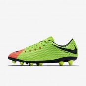 Chaussures de sport Nike Hypervenom Phelon 3 AG-PRO homme Vert électrique/Hyper orange/Volt/Noir