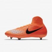 Chaussures de sport Nike Magista Orden II SG homme Cramoisi total/Rouge université/Mangue brillant/Noir