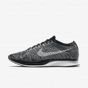 Chaussures de sport Nike Flyknit Racer femme Noir/Blanc