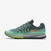 Chaussures de sport Nike Air Zoom Pegasus 33 Shield femme Vert céladon/Vert phosphorescent/Vert ombre/Bronze rouge métallique