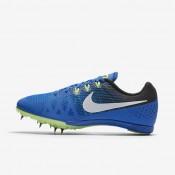 Chaussures de sport Nike Zoom Rival M 8 femme Hyper cobalt/Noir/Vert ombre/Blanc