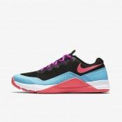 Chaussures de sport Nike Metcon Repper DSX femme Noir/Bleu chlorine/Hyper violet/Rose coureur
