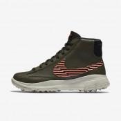 Chaussures de sport Nike Blazer femme Kaki cargo/Rouge lave brillant/Beige clair/Noir