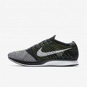 Chaussures de sport Nike Flyknit Racer femme Noir/Blanc/Blanc