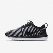 Chaussures de sport Nike Roshe Two Flyknit femme Noir/Blanc/Gris froid/Noir