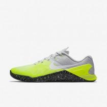 Chaussures de sport Nike Metcon 3 homme Platine pur/Volt/Vert ombre/Noir