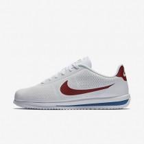 Chaussures de sport Nike Cortez Ultra Moire homme Blanc/Bleu royal/Rouge intense