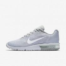 Chaussures de sport Nike Air Max Sequent 2 homme Platine pur/Gris loup/Platine métallisé/Blanc