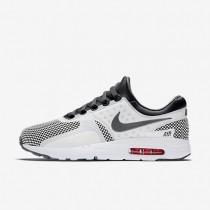 Chaussures de sport Nike Air Max Zero Essential homme Gris foncé/Blanc sommet/Cramoisi brillant/Gris foncé