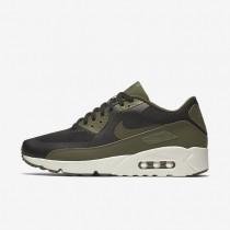 Chaussures de sport Nike Air Max 90 Ultra 2.0 Essential homme Noir/Voile/Vert légion