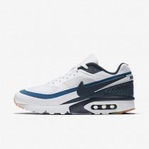 Chaussures de sport Nike Air Max BW Ultra homme Blanc/Bleu industriel/Jaune gomme/Marine arsenal