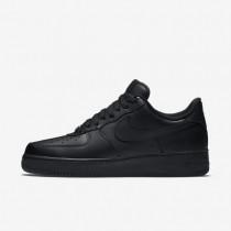 Chaussures de sport Nike Air Force 1 '07 homme Noir/Noir