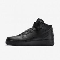 Chaussures de sport Nike Air Force 1 Mid 07 homme Noir/Noir/Noir
