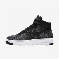 Chaussures de sport Nike Air Force 1 Ultra Flyknit homme Noir/Blanc/Noir