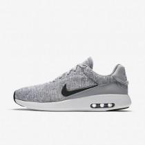 Chaussures de sport Nike Air Max Modern Flyknit homme Gris loup/Blanc/Noir