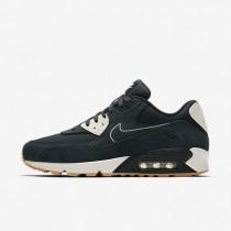 Chaussures de sport Nike Air Max 90 Premium homme Marine arsenal/Voile/Jaune gomme/Marine arsenal