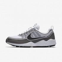 Chaussures de sport Nike Air Zoom Spiridon homme Blanc/Cendré clair/Noir