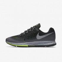 Chaussures de sport Nike Air Zoom Pegasus 33 Shield homme Noir/Gris foncé/Discret/Argent métallique