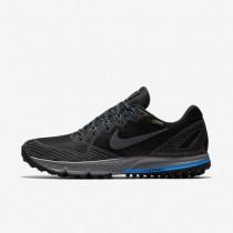 Chaussures de sport Nike Air Zoom Wildhorse 3 GTX homme Noir/Bleu photo/Gris loup/Gris foncé