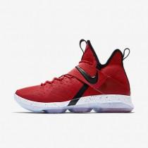 Chaussures de sport Nike LeBron XIV homme Rouge université/Blanc/Noir